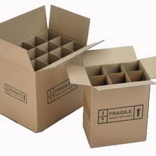 平口型黄纸箱